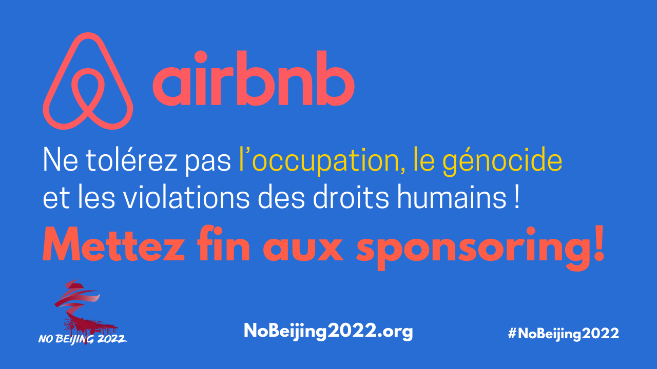 airbnb mettez fin aux sponsoring!