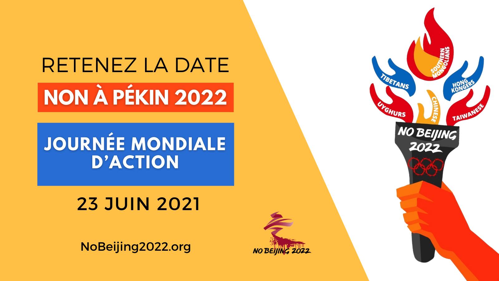 Non a Pekin 2022