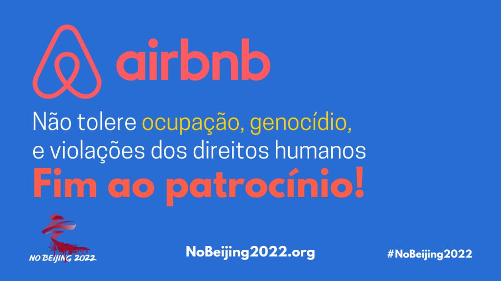 Airbnb Fim ao patrocinio!