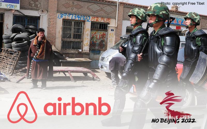 Airbnb: stop sponsoring genocide