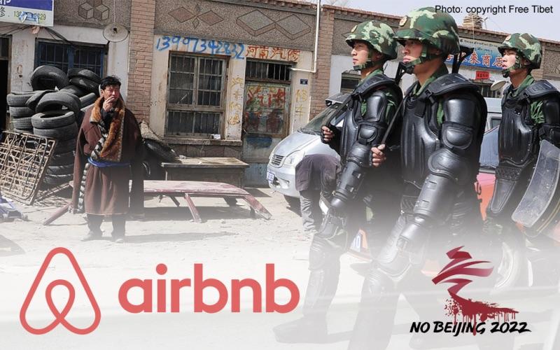 Airbnb: Deja de patrocinar el genocidio